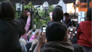 Miley Cyrus and Mitchel Musso performing LIVE --- Welcome To Hollywood  Zeen by starstruckfanz.com