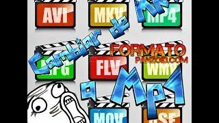 Convertir un fomato de video a mkv, mp4, avi, flv, mov, wmv, 3gp, entre otros 2017