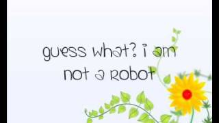 Marina And The Diamonds - I Am Not A Robot (Lyrics)