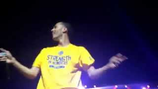Five More Hours (Chris Brown Cover) Kalin and Myles WZPL Birthday Bash 2015