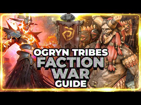 OGRYN TRIBES Faction Guide! Stage 21 Full Auto! RAID Shadow Legends