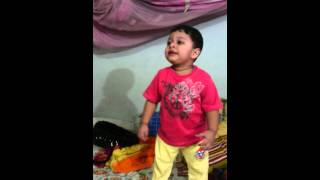Gandi bat  dance by little rameen.