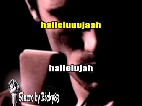 Alexandra Burke Hallelujah Karaoke Karafun Vers Piano Video Jeff