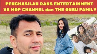 Kalah Telak? Penghasilan Rans Entertainment Vs The Onsu Family dan MOP Channel