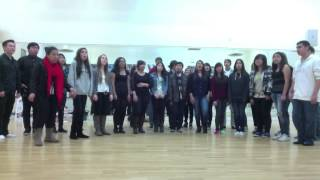Somebody That I Used To Know (Pentatonix Version)[Cover by GHCHS Show Choir]
