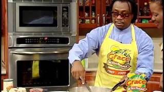 A J Brown's Coconut Cream Stewed Fish - Grace Foods Creative Cooking
