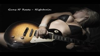 Guns N' Roses - Nightrain Solo Cover -alex ds-