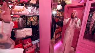 Jeffree Star's pink vault closet