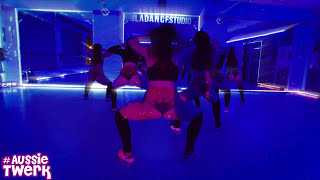 TroyBoi - Do you Aussie Twerk Students Team with DHQ Kris Moskov at L.A. Dance Studio