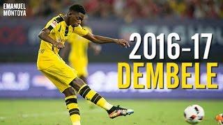Ousmane Dembele - Mejores Goles y Jugadas/Best Skills & Goals 2016-17 HD
