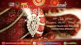 Tushar weds Gitanjali {Traditional Hindu} WhatsApp Wedding Invitation Video