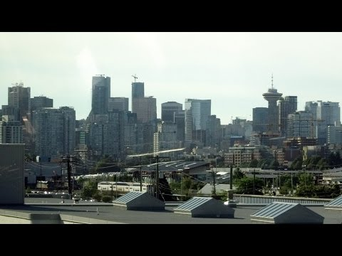Seattle - Vancouver Boltbus: #2 Canadian border inspection to downtown Vancouver BC 2015-08-16