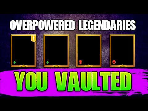 Get These Legendaries out of the Vault! Raid Shadow Legends