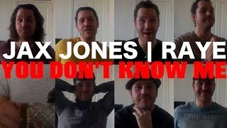 Jax Jones Feat. RAYE - YOU DON'T KNOW ME (Liam Holmes Cover)