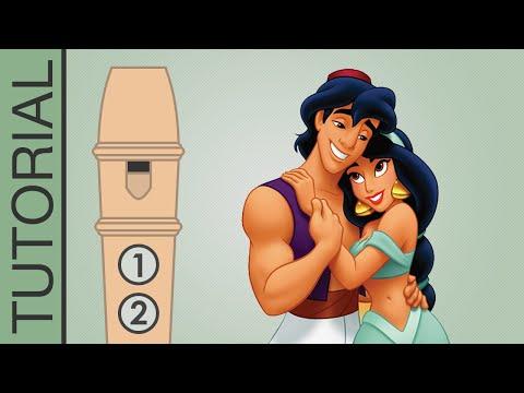 Comment jouer le Rêve Bleu d'Aladin à la flûte