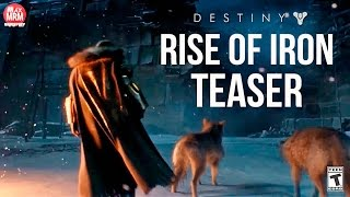 Destiny - RISE OF IRON TEASER / TRAILER ( Live da Bungie Amanhã 09/06 14:00hs)