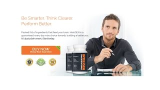 Inteligen Brain Booster Supplements