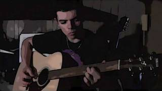 Pink Floyd - Wish you were here - First solo (acoustic cover)