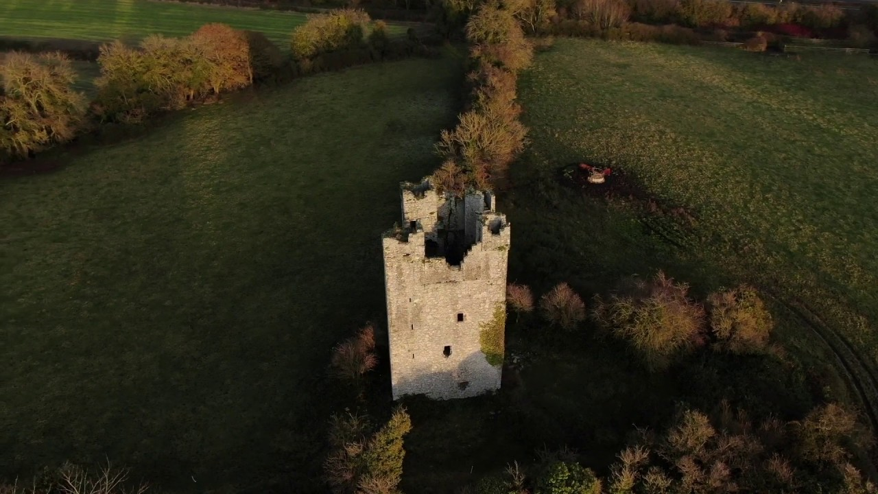 Dunmahon Castle, County Louth, Republic Of Ireland