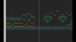 MIDI Drawing no. #6 - Railway tracks