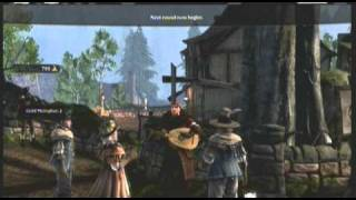 Fable 3 Lute Hero Mini Game