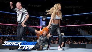 Charlotte Flair & Becky Lynch vs. Natalya & Carmella: SmackDown LIVE, Oct. 3, 2017