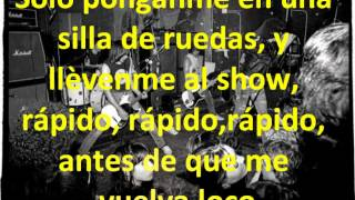 The Ramones I wanna be sedated sub español
