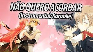 """The Kira Justice: """"NÃO QUERO ACORDAR"""" (Instrumental/Karaoke)"""