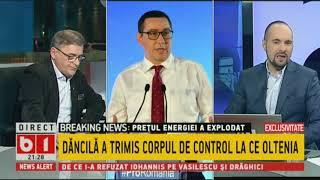 Ponta demască problemele de la CE Oltenia:Au fost falsificate datele privind rezerva de cărbune.