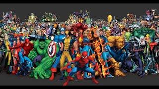 criei uma abertura  da Marvel