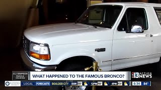What happened to O.J. Simpson's white Bronco?