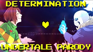 Determination - Undertale Parody (Parody of Irresistible - Fall Out Boy) ft. Lollia width=