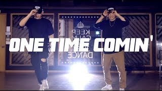 안양댄스학원 YG - ONE TIME COMIN'|Choreography by JONG HYUK 레츠댄스 LETZDANCE