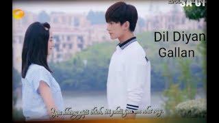 Dil Diyan Gallan - Tiger zinda hai ( requested)  || Yang yang || korean mix || SA CTR