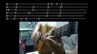 [TABS] Kung 'Di Rin Lang  Ikaw - Fingerstyle Cover