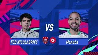 FIFA 19 Gfinity FUT Champions Cup December Playstation Final MoAuba vs Nicolas99fc