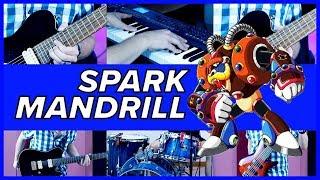 Spark Mandrill - Mega Man X (METAL GUITAR COVER)