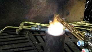 Проверка газового резака на обратный удар