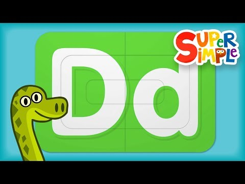 Alphabet Surprise- Learn Letter D