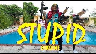 "6IX9INE ""STUPID"" Prod. Dj SpinKing X Boi 1Da (New Music - 7 for 7)"