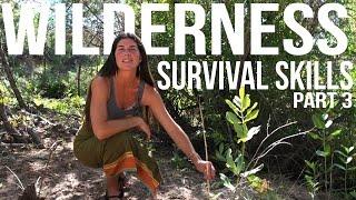 Wilderness Survival Skills Pt 3/4: Hand Drill, Tarp Shelter, & Resource Gathering