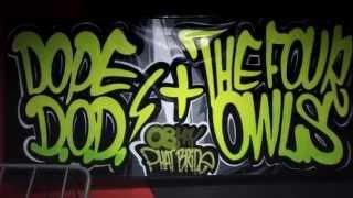 Dope D.O.D. & The Four Owls graffiti in Sofia, Bulgaria