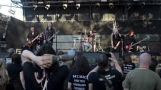 Preternatural feat. Māra Sekhmet - Reptile Wings LIVE @ Metalshow.lv Open Air 2017