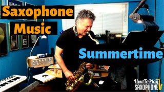 Summertime - Saxophone Music & Backing Track Download
