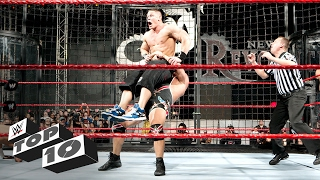 Elimination Chamber Match OMG Moments: WWE Top 10 width=