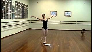 Aprendendo a dançar (ensaio) - Première Ballet