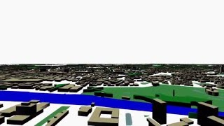 Open Street Map in 3D  with OpenGL