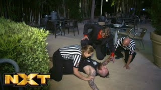 Aleister Black is found unconscious in the parking lot: NXT Exclusive, Aug. 8, 2018 width=