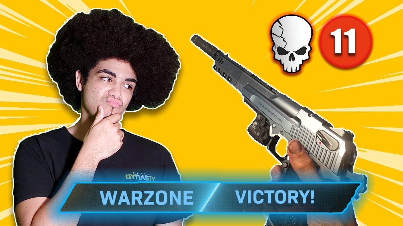 SuperGG03 - DEAGLE AND KAR98 LOADOUT CHALLENGE IN WARZONE!! (Call Of Duty Modern Warfare)