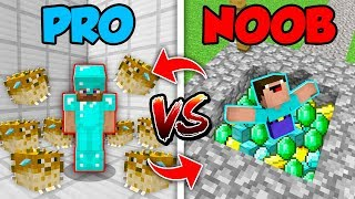 Minecraft NOOB vs. PRO : TRAPS in Minecraft (Compilation)